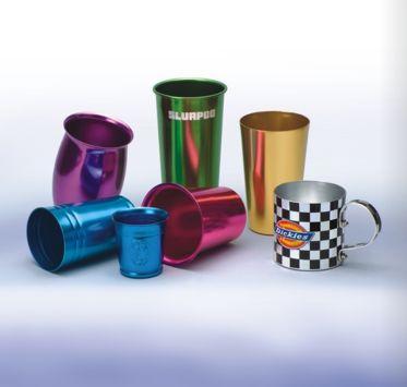中国生産OEM商品化支援事例 文具&雑貨カテゴリー アルミカップ